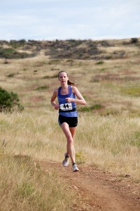Melissa Dock on her way to winning. Erin Bibeau