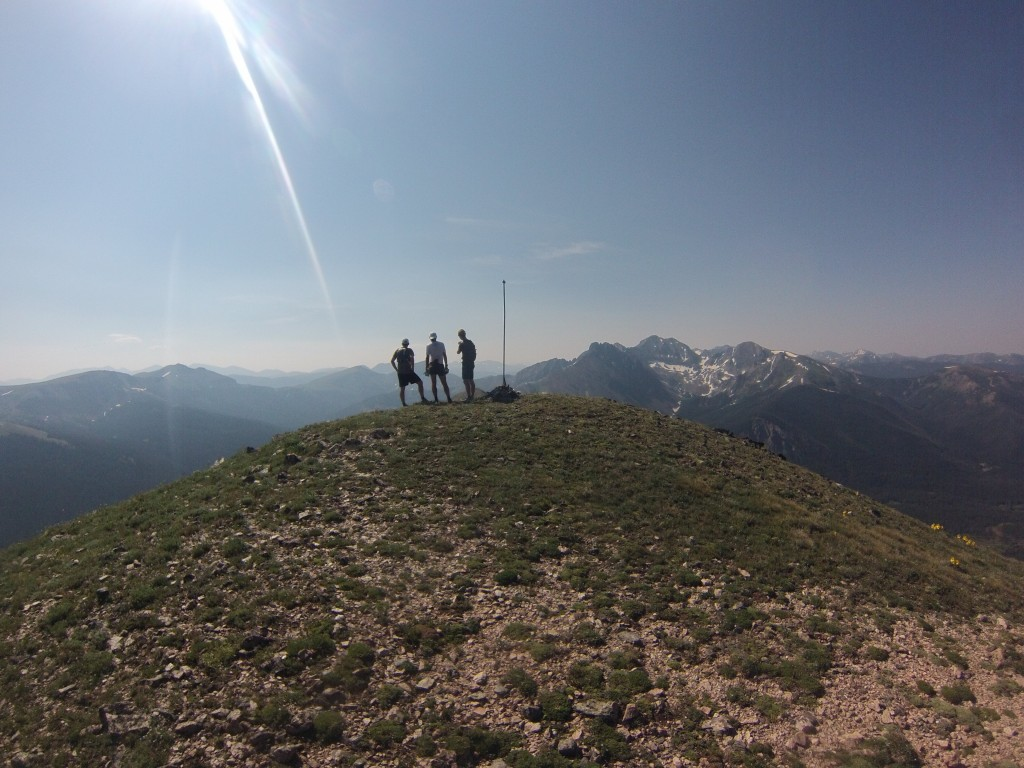 North Diamond Peak Summit