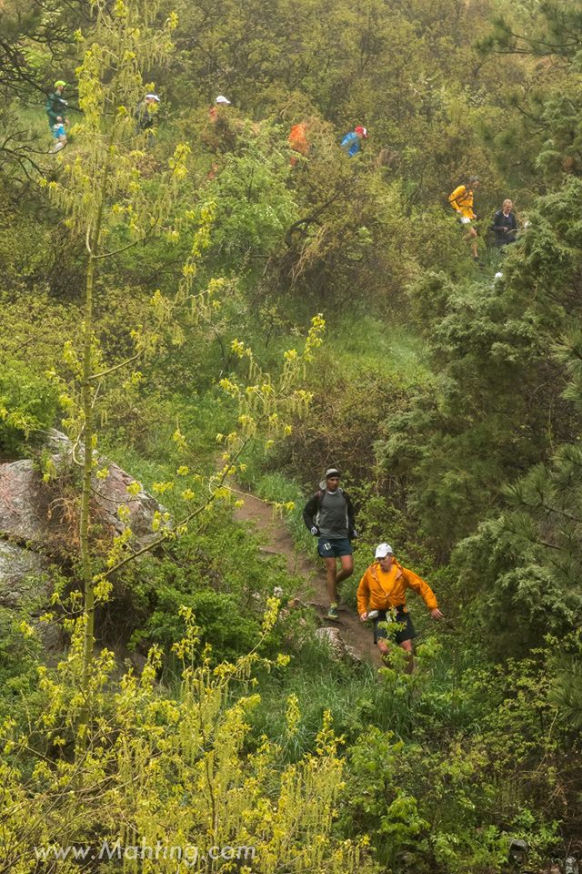 Horsetooth Falls - 2016 Quad Rock 50 and 25 Trail Races