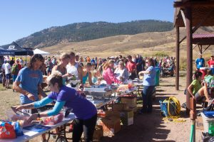 2016 Black Squirrel Trail Half Marathon Post-Race BBQ