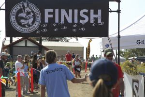 Black Squirrel Trail Half Marathon Finish at Lory State Park