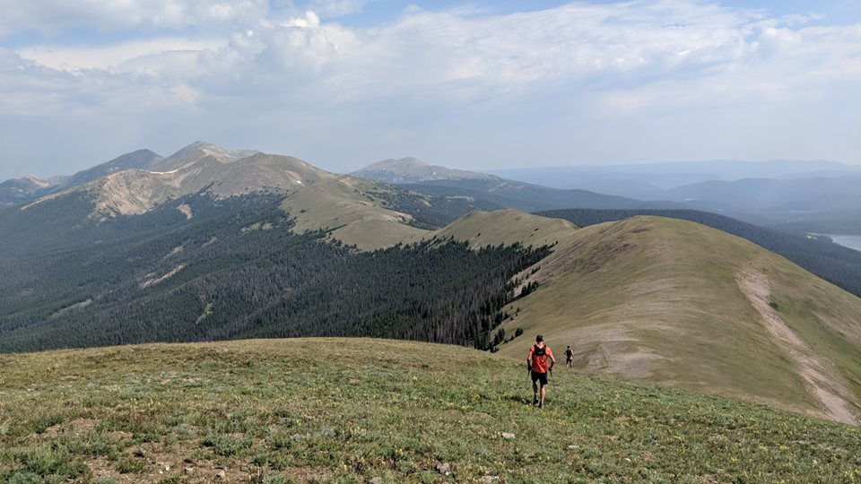 Montgomery Pass at the 2018 Never Summer 100K